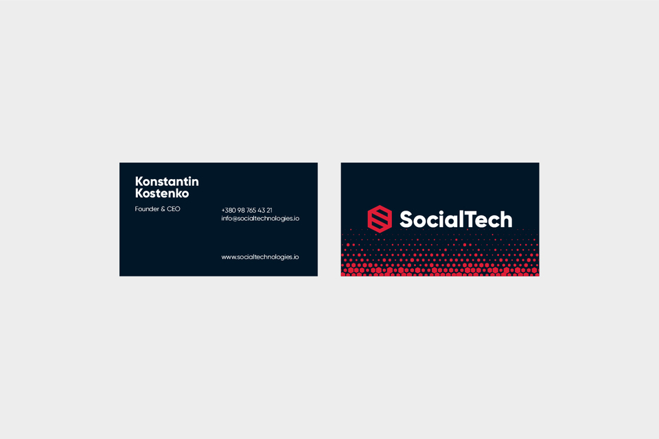 SocialTech [7/17] → The Whyte is a branding agency, only quality branding